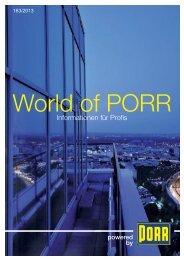 PDF-Version - World of PORR - PORR AG
