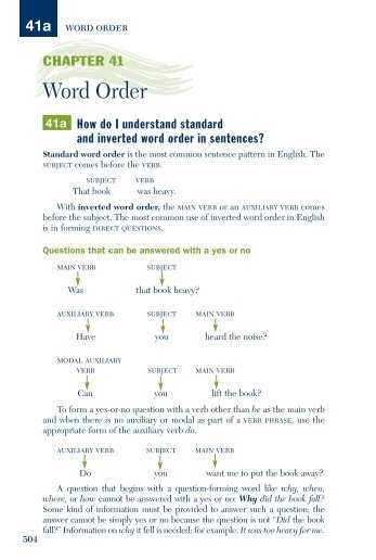 Nominalization And Word Order In Nominal Groups I