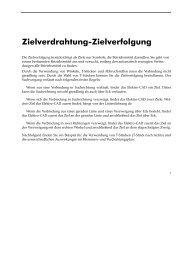 Zielverdrahtung-Zielverfolgung - CAD.de