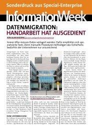 DATENMIGRATION: HANDARBEIT HAT AUSGEDIENT - IBM