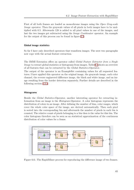 Real-time feature extraction from video stream data for stream ...