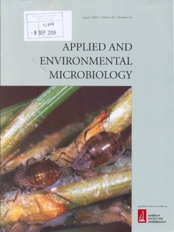 applied and environmental microbiology