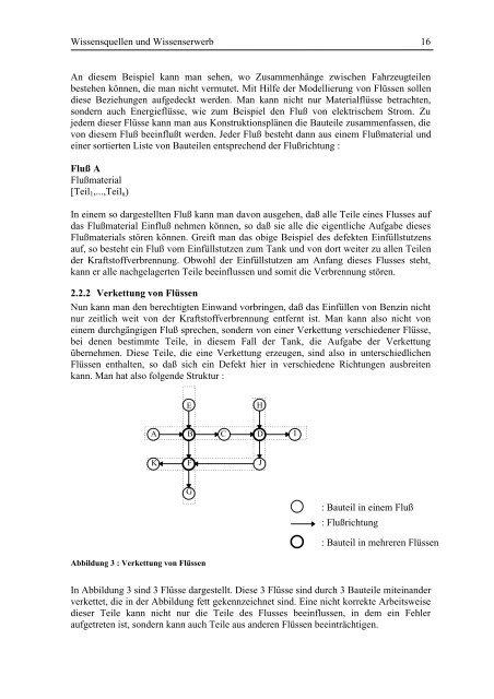 Erwerb funktionaler, räumlicher und kausaler Beziehungen von ...