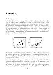 Empirical-Likelihood-Schätzung der Fehlerverteilung im ...