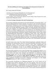 Die Herausbildung der modernen slowenischen Literatursprache im ...