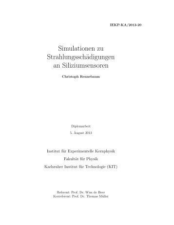 IEKP-KA/2013-20 - Institut für Experimentelle Kernphysik - KIT