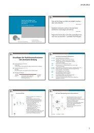 Grundlagen und Konzepte - Institut für Organische Chemie