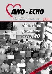 2. Quartal 2006 | Awo-Echo Ausgabe 154 - AWO Baden