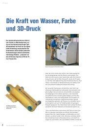Die Kraft von Wasser, Farbe und 3D-Druck - Z Corporation