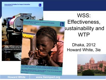 WSS: Effectiveness, sustainability and WTP (1.1 MB) - 3iE