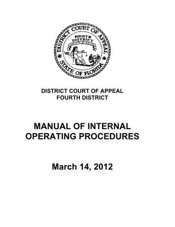 Operational Procedure QOP-82-02 Internal Quality