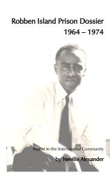 Robben Island Prison Dossier 1964 – 1974 - Marxists Internet Archive