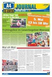 Ausgabe vom 30. April 2013 (PDF: 4 MB) - A4-Center