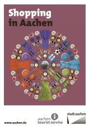 Shopping in Aachen - Stadt Aachen