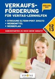 Folder Verkaufsförderung - Veritas