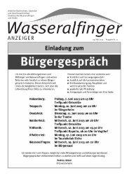 29. Mai 2013 Ausgabe Nr. 11 - Stadt Aalen
