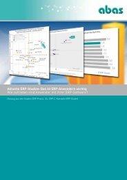 Aktuelle ERP-Studien - ABAS Software AG