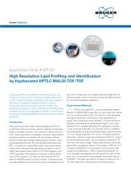 Application Note # MT-101 High Resolution Lipid ... - Bruker Daltonics