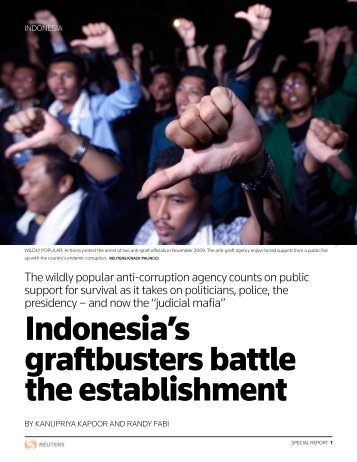 Indonesia's graftbusters battle the establishment - Thomson Reuters
