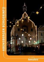 Bürgerinfo Dezember 2012 - Stadt Abensberg