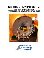 DISTRIBUTION PRIMER 2 - Technical Learning College