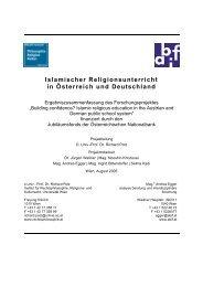 Islamischer Religionsunterricht in Österreich und ... - bei abif