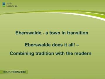 Eberswalde Does It All! - Urbact
