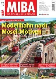 Modellbahn nach Mosel-Motiven - Verlagsgruppe Bahn