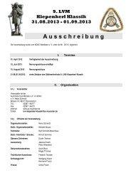 KK Ausschreibung - Automobil-Club Münster e.V im ADAC