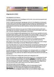 Mitgliederinfo 2/2013