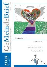 Evangelische Kirchengemeinde Langenfeld A usgabe 4 / 2013 ist ...