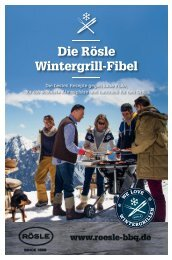 Die Rösle Wintergrill-Fibel
