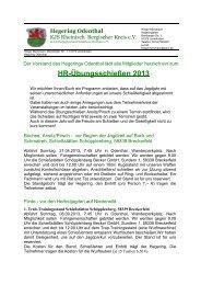 HR-Übungsschießen 2013