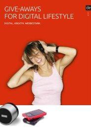 Give-aways for DiGital lifestyle - 4U Werbeartikel