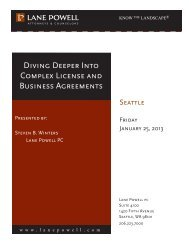 Diving Deeper Into Complex License and Business Agreements