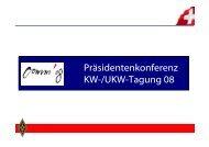Präsidentenkonferenz KW-/UKW-Tagung 08 - USKA