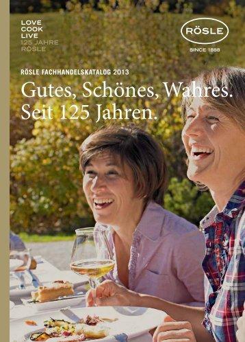 Katalog 2013 - Rösle