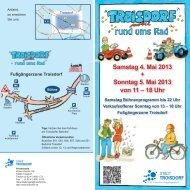 Der Info-Flyer zu Troisdorf mobil.