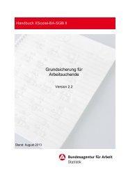 Handbuch - Grundsicherung für Arbeitsuchende - Statistik der ...