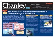 New WaveRunner models reach the next level of product maturity and