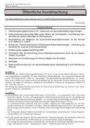 Gemeinderatssitzung vom 01.12.2008 (57 KB) - .PDF - St. Josef