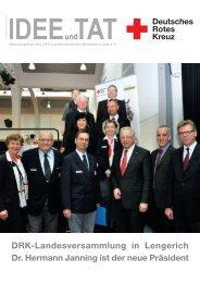 Ausgabe Dezember 2013 - DRK-Landesverband Westfalen-Lippe eV