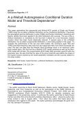 A q-Weibull Auroregressive Conditional Duration Model - E-thesis ... - Page 2