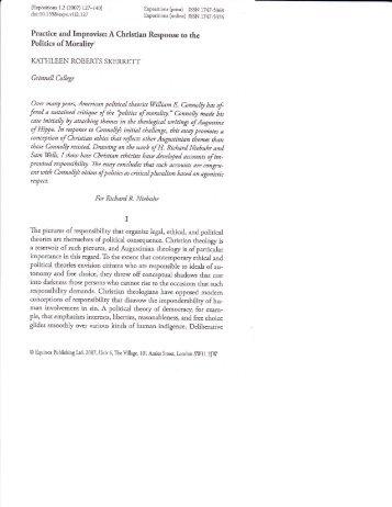 philosophy of chemistry essay wiki