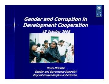 Roohi Metcalfe - UNDP Asia-Pacific Regional Centre