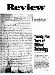 Twenty-five Years of Biblical Archeology - Adventistarchives.org