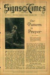 ^attern Prayer - adventistarchives.org