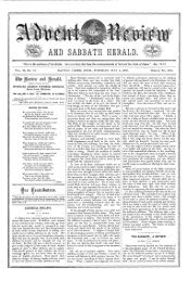 review and herald. - Adventistarchives.org