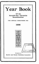 Of the Seventh-day Adventist Denomination - Adventistarchives.org