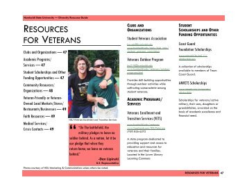 Resources for veterans - Humboldt State University